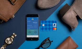 Paypal Credit Card on table
